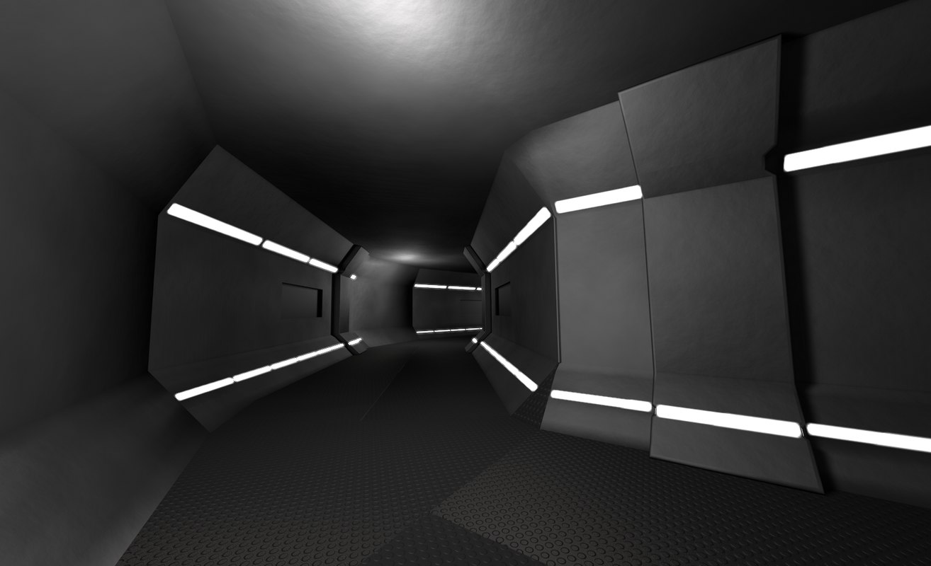 space tunnel c4d