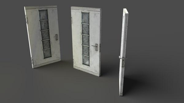 3d model door 03 -