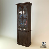 modenature bookcase 3d model