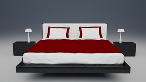 max modern bed