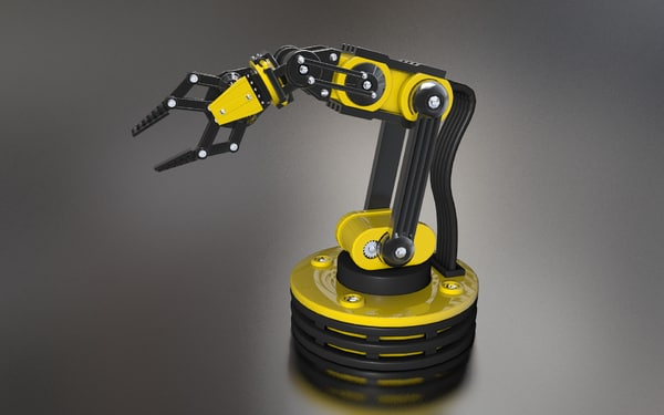 robot manipulator 3d model