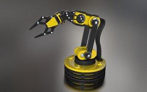 robot manipulator 3d model