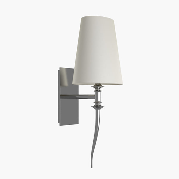 3ds max brunilde wall lamp