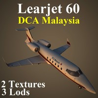 learjet 60 dca max