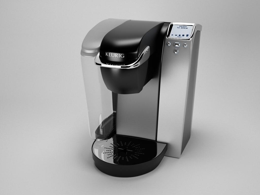 3d model keurig k75 coffee maker