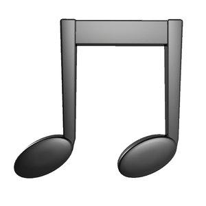 3d musical notation