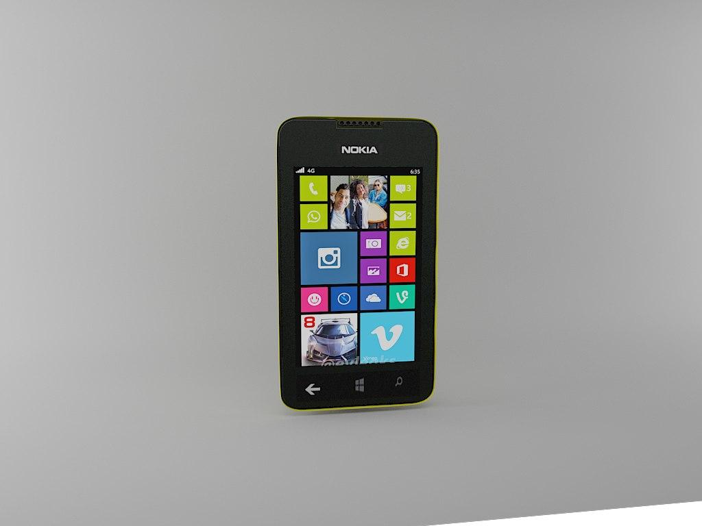 3d smartphone nokia lumia 530