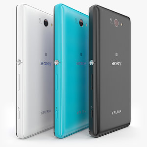 3d sony xperia z2a colors