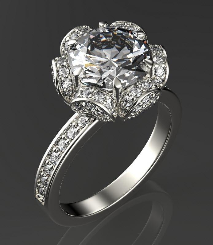 engagement ring obj