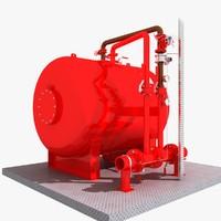 3d model of water tank