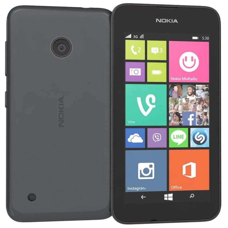 3ds max nokia lumia 530 dual