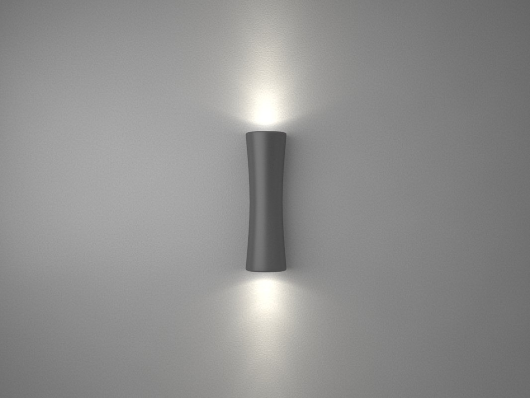 free wall light 3d model