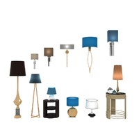 lighing furniture set floor lamps max