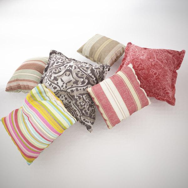 3d pillow set