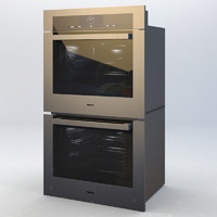 3d model m miele oven