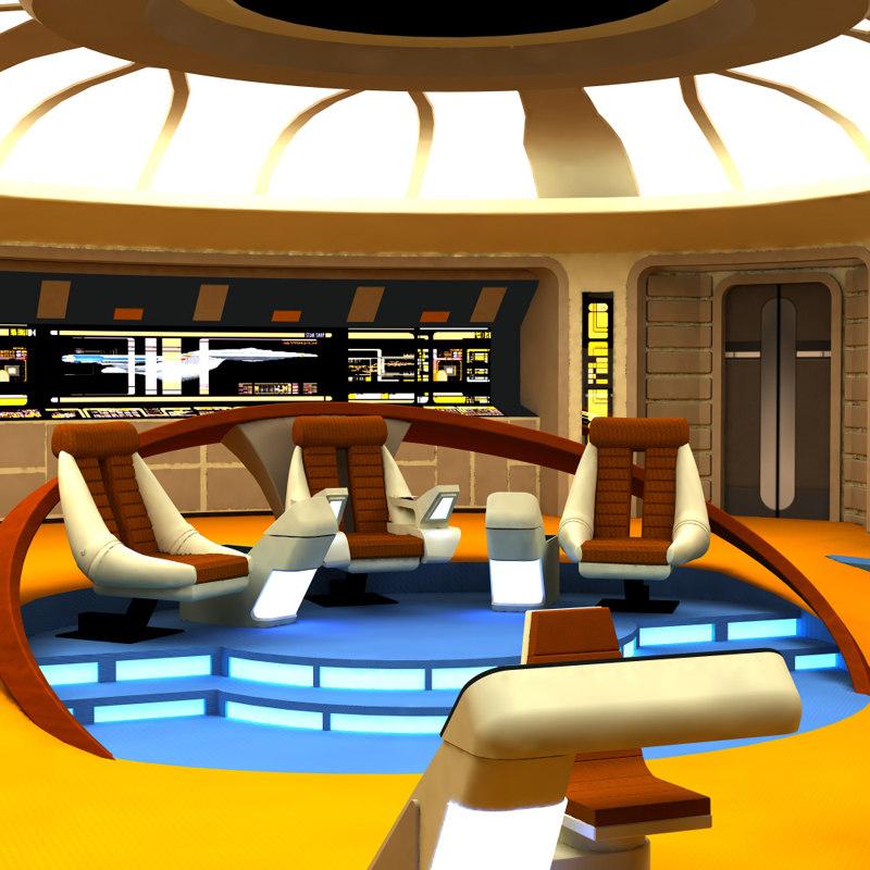 3d pz3 poser starship bridges