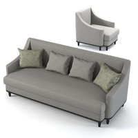 Galimberti Nino Grace Sofa Chair Set