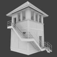 maya railroad tower interior
