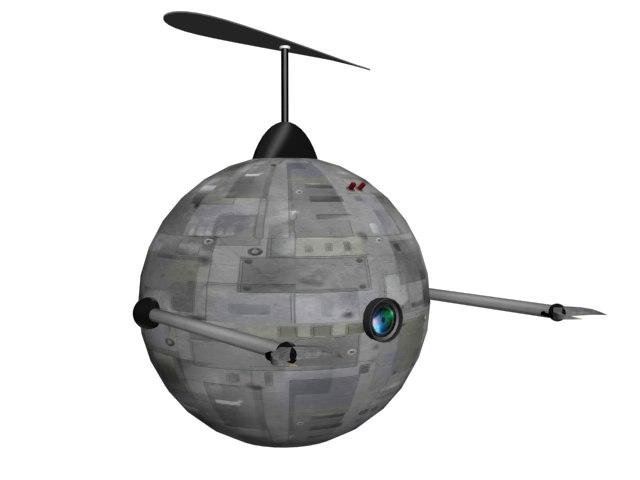 3d robot fly flyrobot