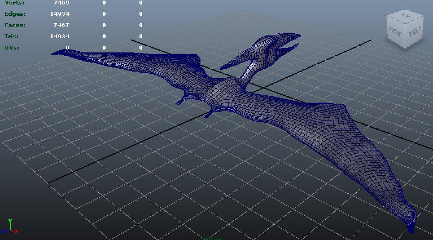maya pterosaur