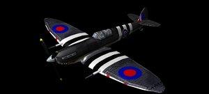 spitfire sharkjaw obj