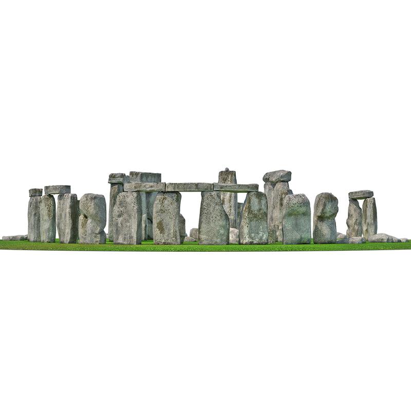 3d stonehenge 2