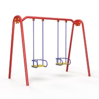 swing children playground 3d max