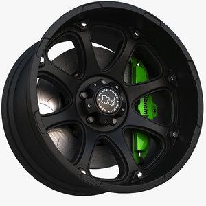 model wheel black rhino glamis