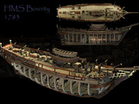 3d model bounty hms