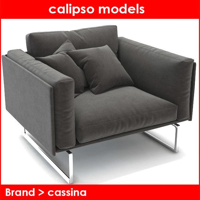 3d model brand cassina
