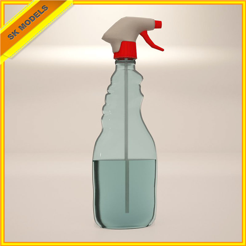 cleaning spray 3d model