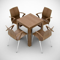 Group chair and table inov prestige