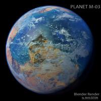 3d planet m-03 m
