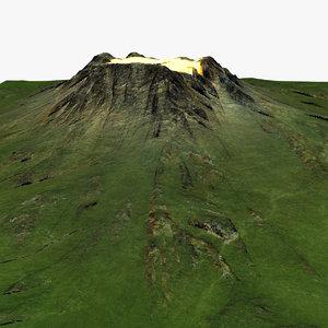 mountain 3d max
