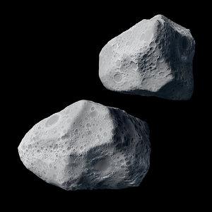 3dsmax asteroid