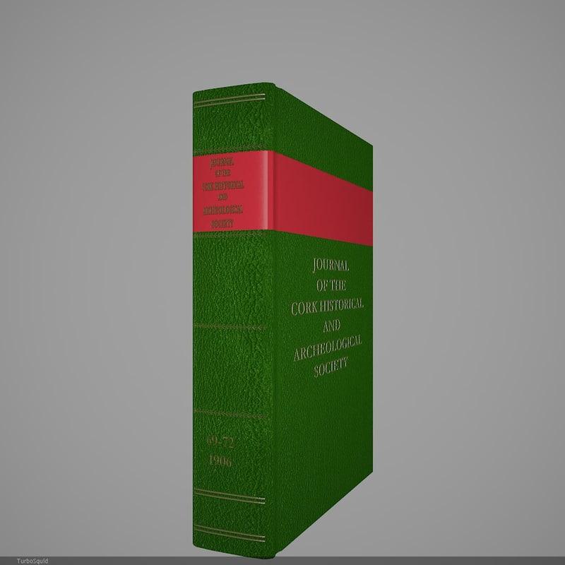 3d book 86 model