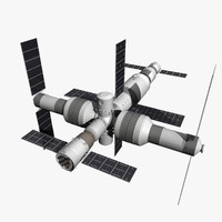 3d max purchase shenzhou spacecraft tiangong