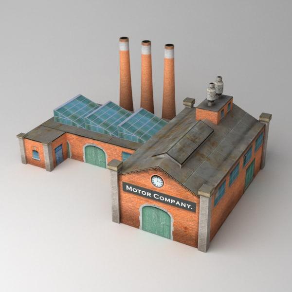 factory 3d max
