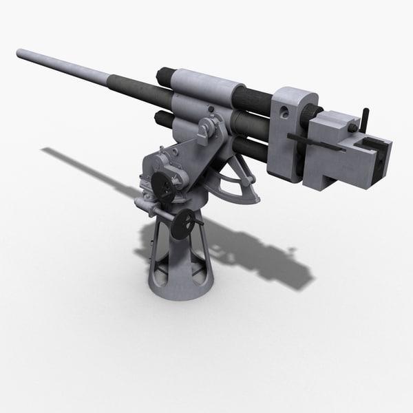3d max soviet salute gun 21-k