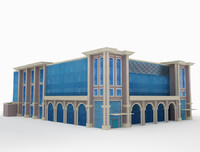3ds arch industrial building