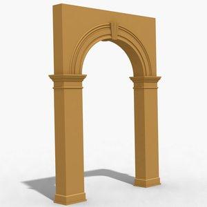 arch 1 3d max