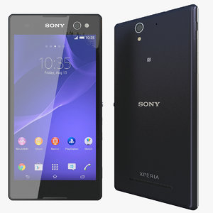 3d model of realistic sony xperia c3