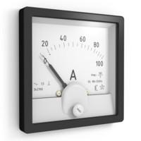 amperemeter voltmeter meter obj