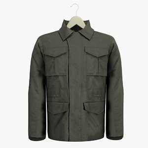 male grey coat hanger 3d c4d