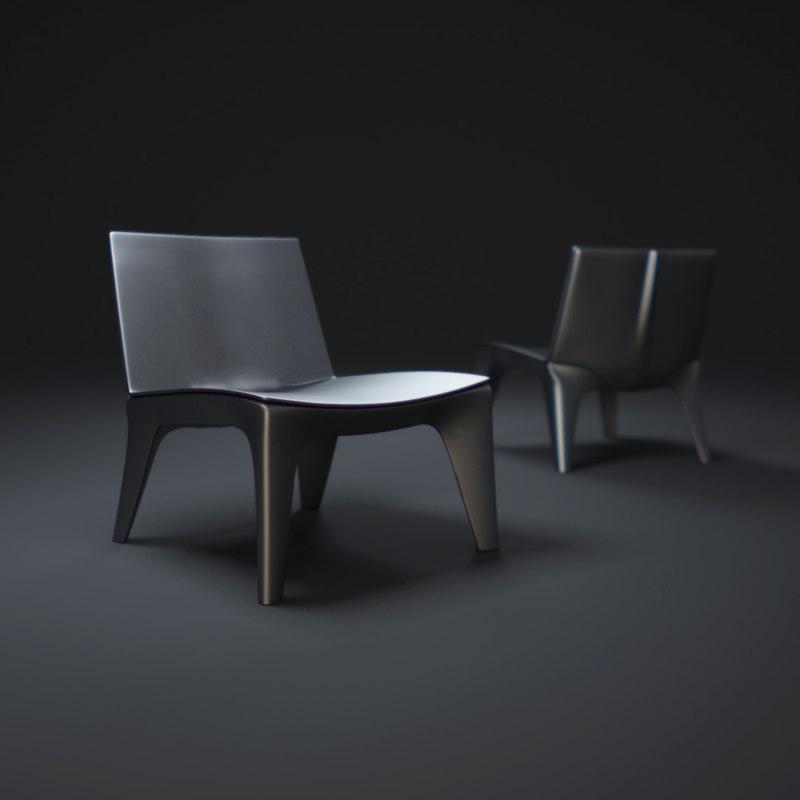 3d bb-chair model