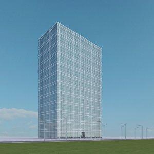 3d new skyscraper 85 model