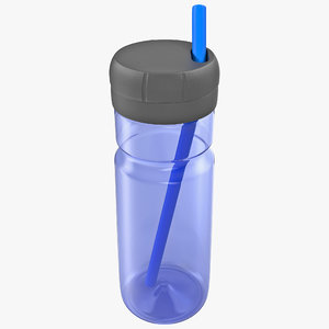 3d drink container model