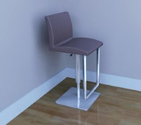 3d matteo bar stool model