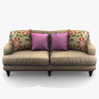 3d max sofa traditional