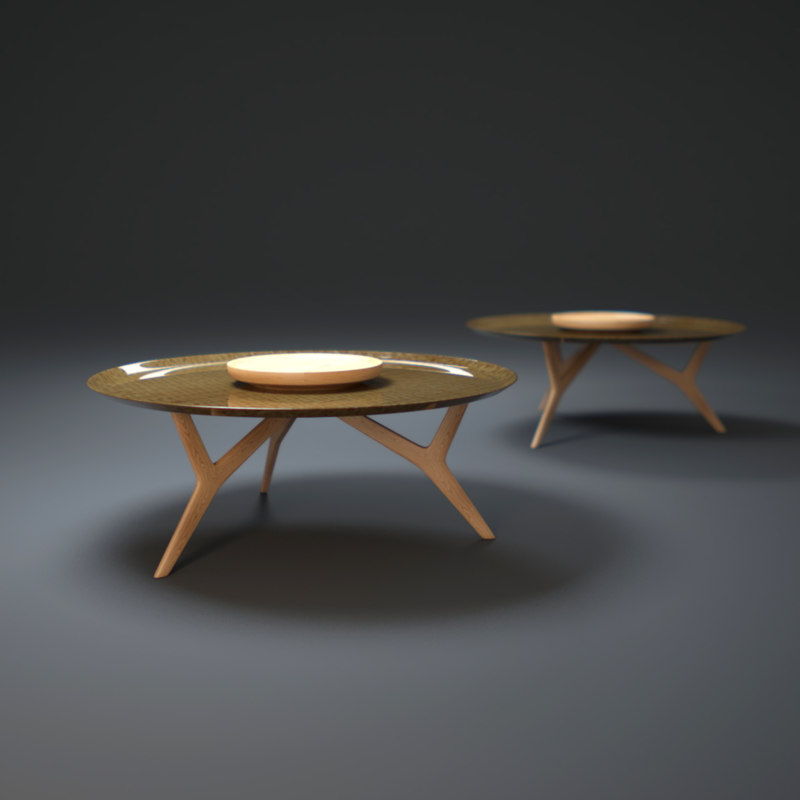 3d coffee-table model